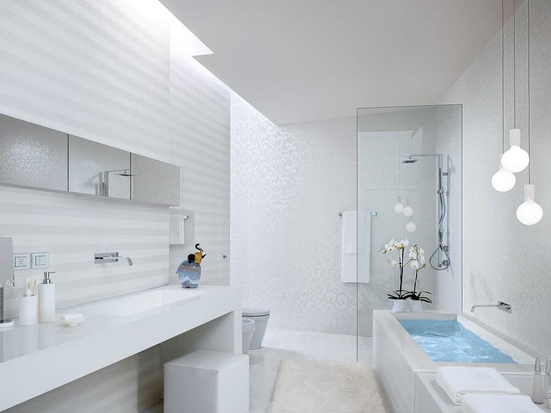z ro d chet dans la salle de bain. Black Bedroom Furniture Sets. Home Design Ideas