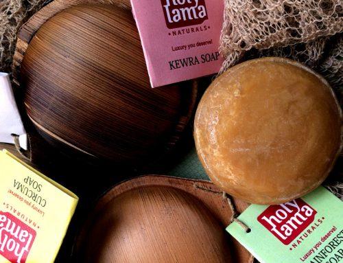 Holy Lama, les savons Ayurvédiques de Natural Ethics…