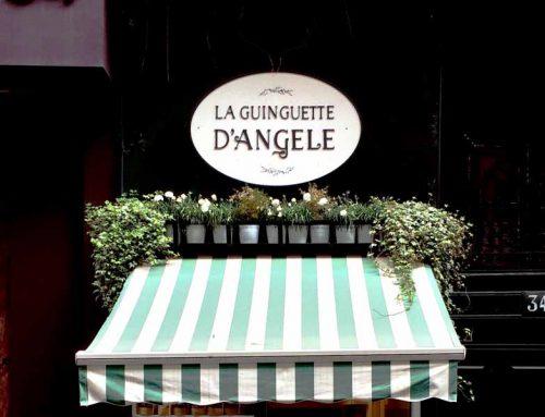 Mon carnet d'adresse : La Guinguette d'Angèle rue Coquillière, Paris.