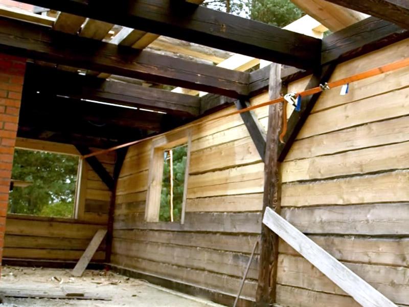 The Birth Of A Wooden House de John Neeman Tools.